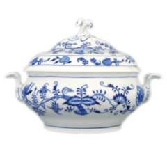 Cesky Porcelan Супница овальная Rokoko Nature с крышкой 70082/18605 (3л)