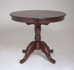 Обеденный стол Обеденный стол Red&Black Круглый (шоколад)