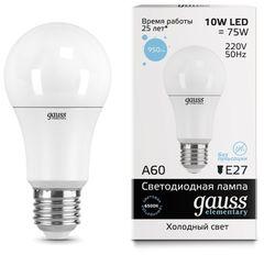 Лампа Лампа Gauss 23230, E27, A60, 10Вт