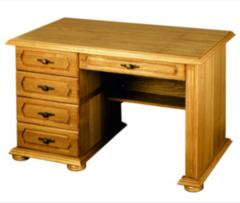 Письменный стол Гомельдрев ГМ 2304 (слоновая кость с патинированием)