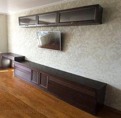 Подставка под телевизор Mago Со столом (массив ольхи)