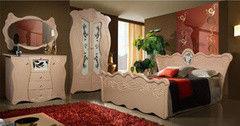 Спальня Калинковичский мебельный комбинат Королева 0387 (шампань)