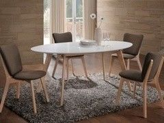 Обеденный стол Обеденный стол Signal Montana (белый)