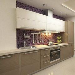 Кухня Кухня AA-Glass Пример 65 (панель AGT)