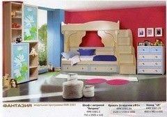 Детская комната Детская комната Калинковичский мебельный комбинат Фантазия (вариант 3)