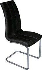 Кухонный стул Mio Tesoro Пина DC-017 (черный/хром)