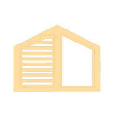 Деревянное окно Сосна слуховое, 1с, Модель 5