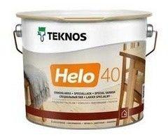 Лак Лак Teknos Helo 40 (9л)