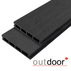 Декинг Декинг Outdoor 3D Storm Black ДПК 150x25x4000 (черная)