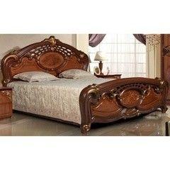 Кровать Кровать Калинковичский мебельный комбинат Розалия 0456.1-01 Орех Экко (160x195)