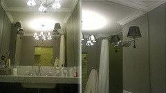Мебель для ванной комнаты Valtera настенное серебро 4 мм, обработка шлифовка