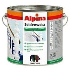 Эмаль Эмаль Alpina Seidenweiss 10l