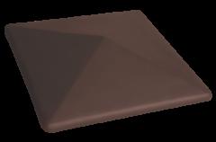 Забор Забор KING KLINKER Шляпа для забора коричневый 03