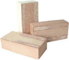 Кирпич Керамический кирпич Керамин Лицевой полнотелый одинарный (КЛО-200, песочный)