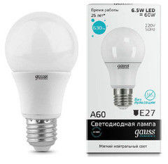 Лампа Лампа Gauss Elementary 23227А (7W E27 4100K)