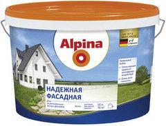 Краска Краска Alpina Надежная фасадная (10 л)