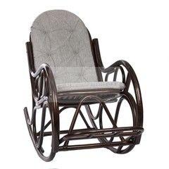 Кресло из ротанга Red&Black Classic (MI-001/Economic/D.Brown-Mat) Орех