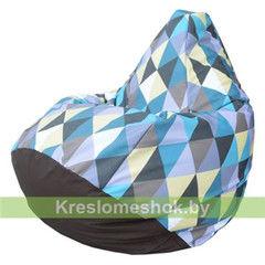 Бескаркасное кресло Бескаркасное кресло Kreslomeshok.by Груша Romb 06 (фотопринт)