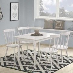 Обеденный стол Обеденный стол Halmar Lanford белый