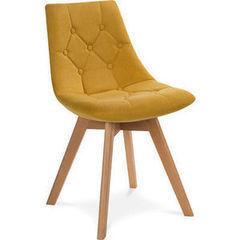 Кухонный стул Atreve Queen (жёлтый/бук)