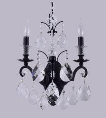 Настенный светильник Crystal Lux Magnifico AP2 Black/Transparent