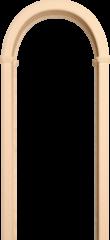 Межкомнатная арка Юркас Романская неокрашенная сосна
