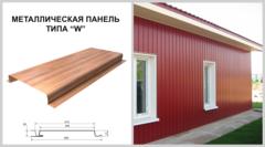 Сайдинг Сайдинг Изомат-Строй Панель типа W Золотой дуб