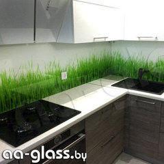 Скинали AA-Glass Скинали 8 из закаленного стекла 6мм + фотопечать (УФ-запекание)