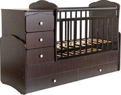 Детская кровать Кроватка Фея 2100 Венге