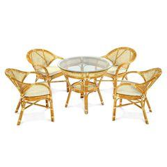 Комплект мебели из ротанга ЭкоДизайн Classic Rattan Java-5 K