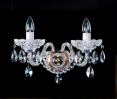 Настенный светильник Elite Bohemia N 689-2-2 Pt