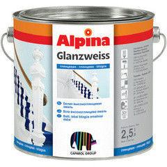 Эмаль Эмаль Alpina Glanzweiss
