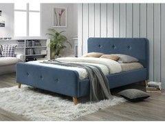 Кровать Кровать Signal Malmo 140x200 (деним)