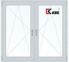 Окно ПВХ Окно ПВХ KBE 1400*1420 2К-СП, 4К-П/О