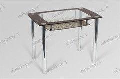Обеденный стол Обеденный стол Стеклолюкс С 30-02 Франческа