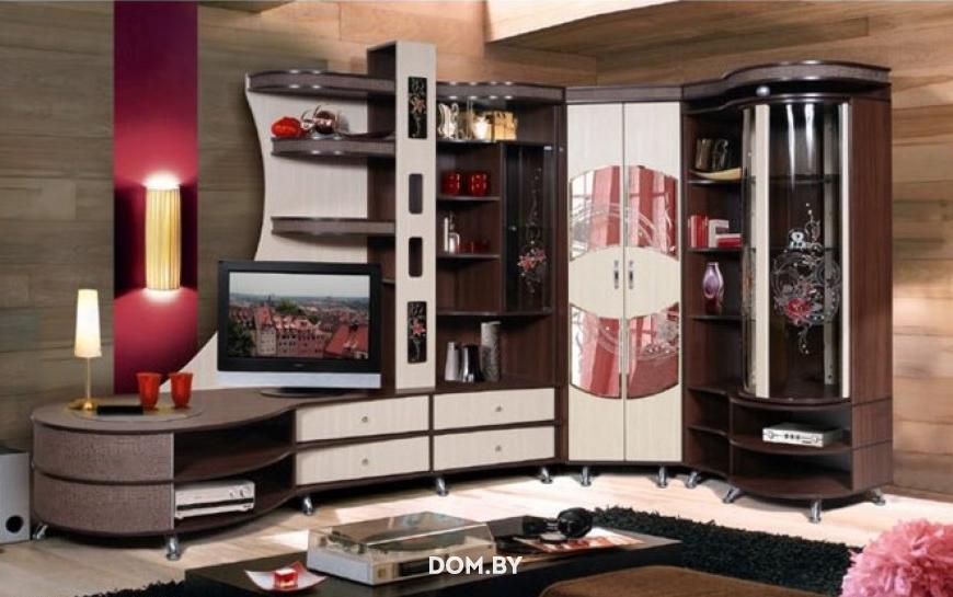 купить мебель для гостиной калинковичский мебельный комбинат орфей