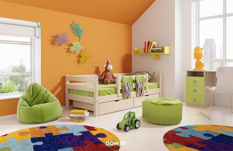 купить детскую кровать соня вариант 4 мебельград в минске