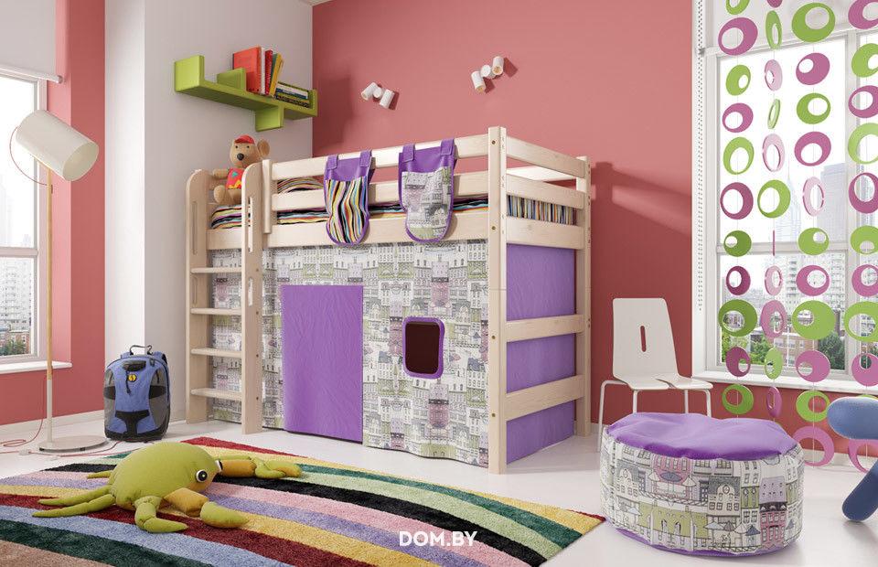 купить детскую кровать соня вариант 5 мебельград в минске